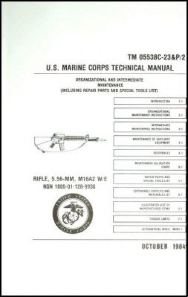 U.S. Marine Corps Technical Manual