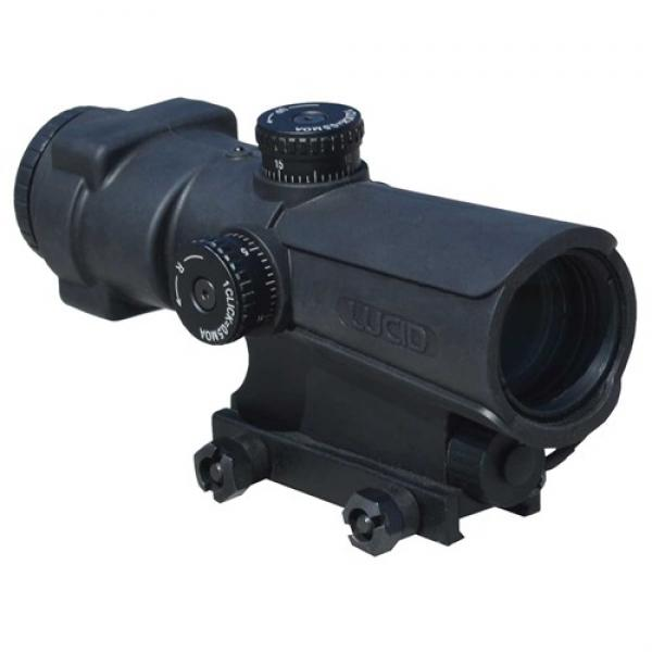 LUCID OPTICS P7 4X RIFLE SCOPE